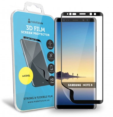 Защитная пленка MakeFuture 3D Samsung Note 8 Black Защитная пленка MakeFuture 3D Samsung Note 8 Black