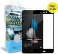 Защитное стекло MakeFuture Full Cover Full Glue Huawei P8 Lite (2017) Black  -